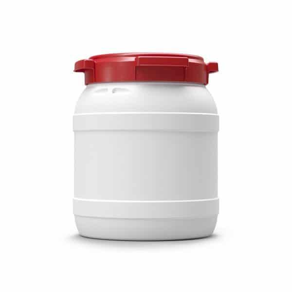 Das 15 Liter Weithalsfass dient dem Schutz des Inhaltes vor etwaigen Witterungsverhältnis