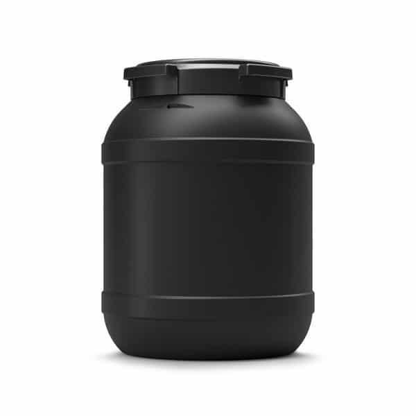 Das 26 Liter UV-beständige Fass schützt den Inhalt vor UV-Einwirkung