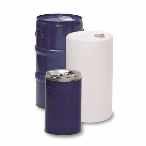 Kombibehälter mit Kunststoff und Stahl