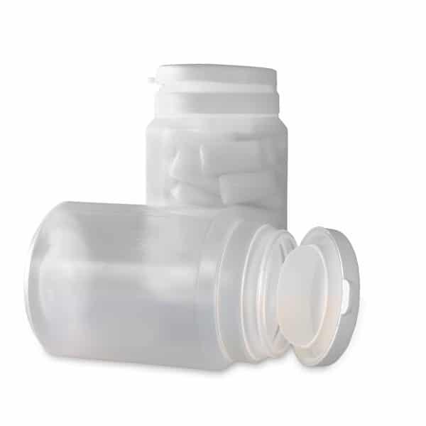 PP-Runddose in der Füllmenge 100 ml in natur